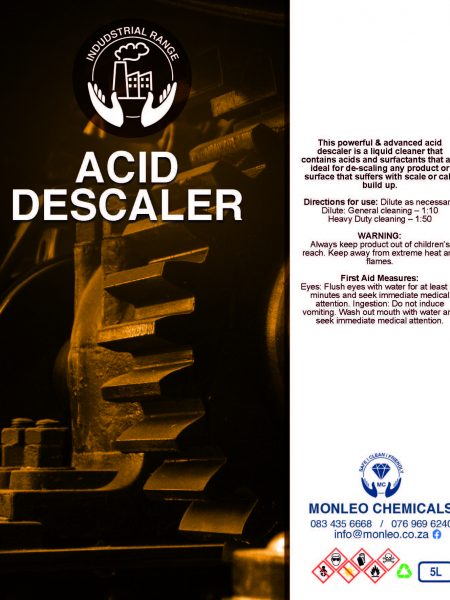 Monleo Chemicals Industrial Range | Acid Descaler