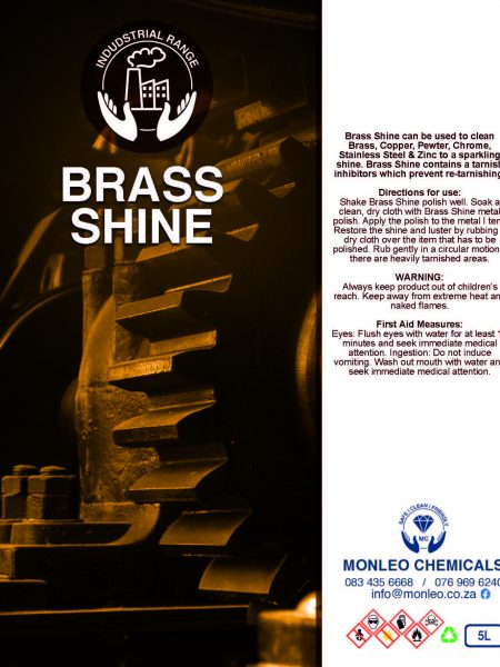 Monleo Chemicals Industrial Range | Brass Shine