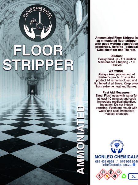 Monleo Chemicals Flooring Range | ammoniated floor stripper