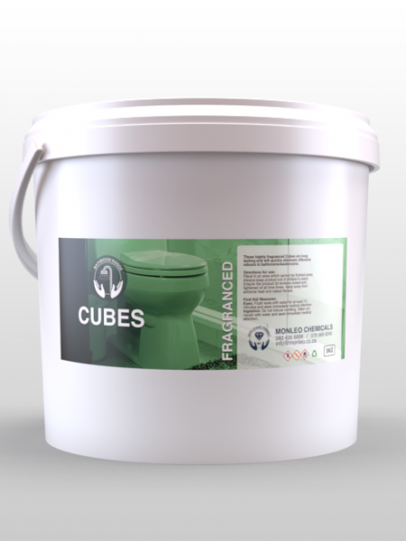 Monleo Chemicals | White Bucket of fragranced cubes