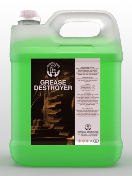 Monleo Chemicals Industrial Range | Grease Destroyer , no more grease, , ,car products ,exterior, factory cleaner, grease removal , grease accessories shop, cleaning accessories online , cleaning accessories for sale, South Africa ,Germiston, Alberton, Johannesburg, south , quality, cleaner , oven cleaner, engine cleaner ,restaurant cleaner, grill cleaner, ,engine cleaner, chemical, Safety, cleaner, disinfectant, surface cleaner, convent, easy to carry, hand wash, hand cleaner, quality, local, south African, Johannesburg, Sandton, Pretoria, Boksburg, Hospital, COVID, COVID-19, COVID2020, COVID2021,