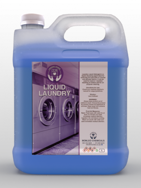 Monleo Chemicals Laundry Range | Liquid Laundry