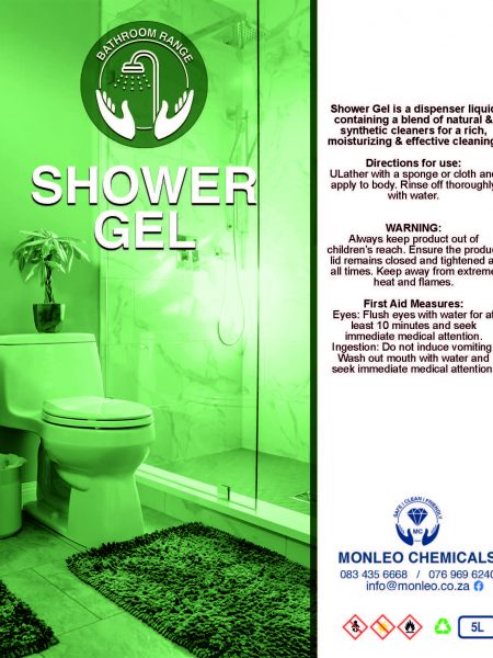 Monleo Chemicals Bathroom and ablutions range | Shower Gel