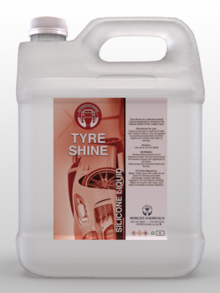 Tyre Shine Liquid - Automotive, tyre shine, silicone liquid , cleaner, quality, local, south African, Johannesburg, Sandton, Pretoria, Boksburg,car products ,exterior, cleaning accessories online , cleaning accessories for sale, car cleaner,surface cleaner,car products ,car detailing ,car detail, car shine for sale, car cleaner, auto, car accessories shop, car accessories online , car accessories for sale, transparent ,5l container ,tyre shine, automotive range,